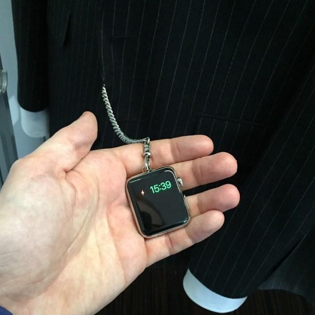 Tom Ford Apple pocket watch