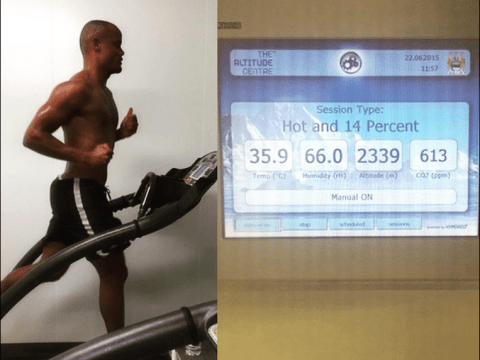 Vincent Kompany back in training weeks earlier than his Manchester City team-mates