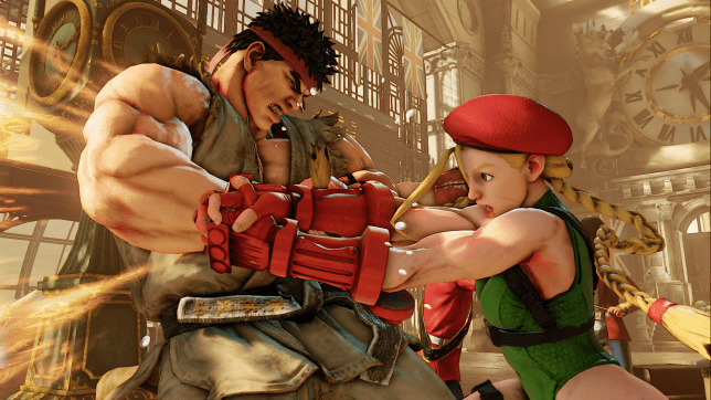 Street Fighter V - in this pic Ryu plays the part of the beta