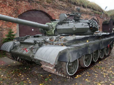 A 78-year-old German man somehow hid a 44-tonne tank in his basement