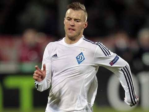 Stoke 'set to complete £13.5m transfer signing of Dynamo Kiev forward Andriy Yarmolenko'