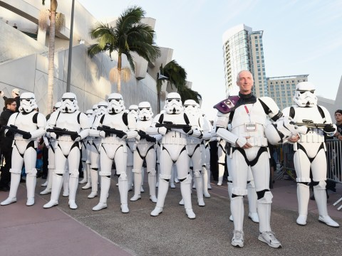 Meet the man who walked over 600 miles to Comic-Con dressed as a Stormtrooper to honour his late wife