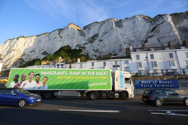 paddy power like to market things like this.... Source:Twitter/@paddypower