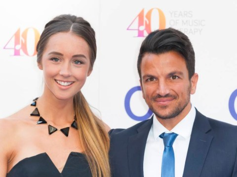 Peter Andre has bagged his mysterious girl: Popstar and Emily MacDonagh are married!