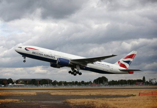 A British Airways aircraft takes off at Heathrow airport in London, U.K., on Thursday, July 29, 2010. British Airways Plc said its first-quarter loss widened after strikes by cabin crew grounded flights and a volcanic ash cloud closed the company's London Heathrow hub. Photographer: Simon Dawson/Bloomberg via Getty Images