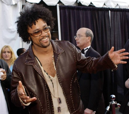 ALL...MAN07 - 20030113 - LOS ANGELES, CALIFORNIA, UNITED STATES : Musician Shaggy arrives at the 30th Annual American Music Awards in Los Angeles 13 January, 2003.    EPA PHOTO AFPI/LUCY NICHOLSON...ACE...MUSIC...LOS ANGELES...CALIFORNIA...UNITED STATES
