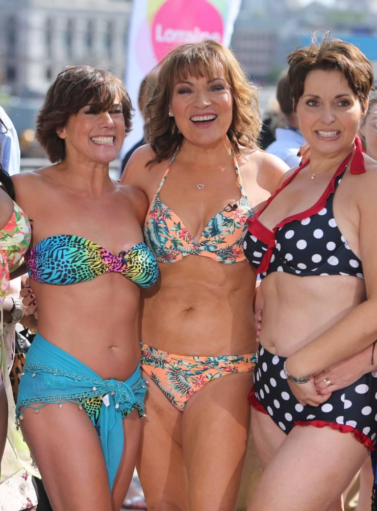 Fox women in bikinis