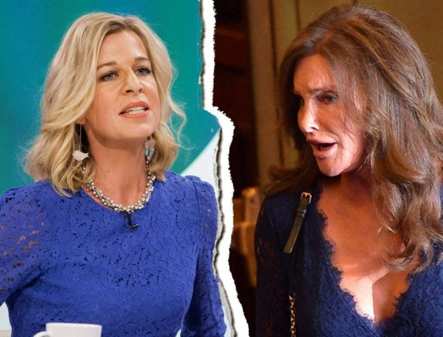 Kate Hopkins and Caitlyn Jenner