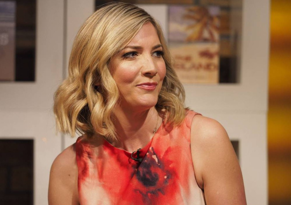 Lisa Faulkner's 'gunshot wound' dress while talking about Tunisia shootings caused quite a stir