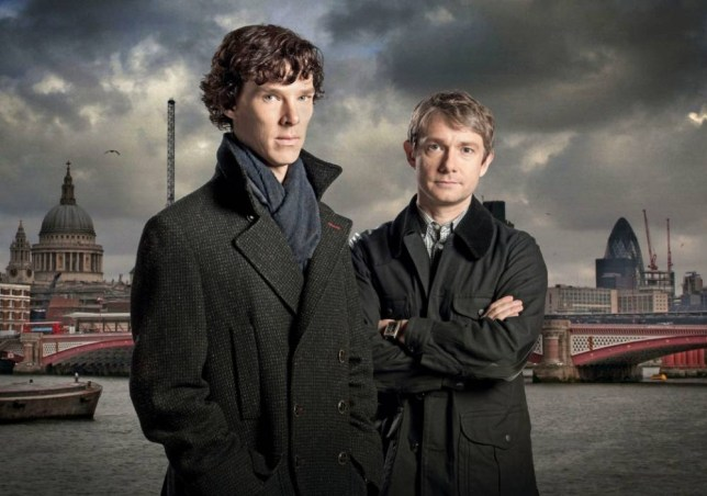Television Programme: Sherlock Favourite Detectives with Benedict Cumberbatch and Martin Freeman. CPPM53 (Season 1)