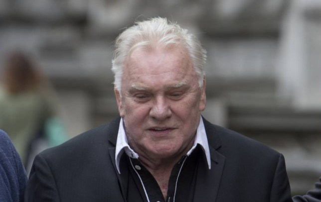 British comedian Freddie Starr pictured before his death