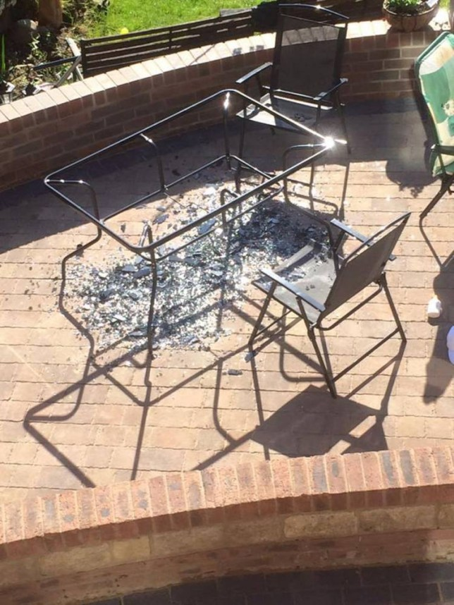 Asda Investigating After Reports Of Exploding Patio Tables