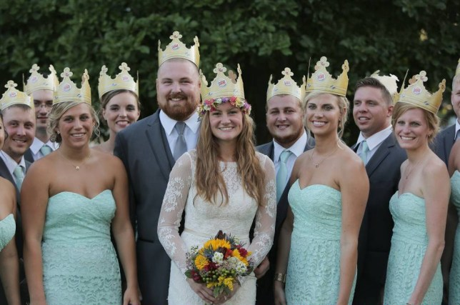 JACKSONVILLE, IL - JULY 17:  General atmosphere at the wedding of Ashley King and Joel Burger on July 17, 2015 in Jacksonville, Illinois.  (Photo by Tasos Katopodis/Getty Images for Burger King)