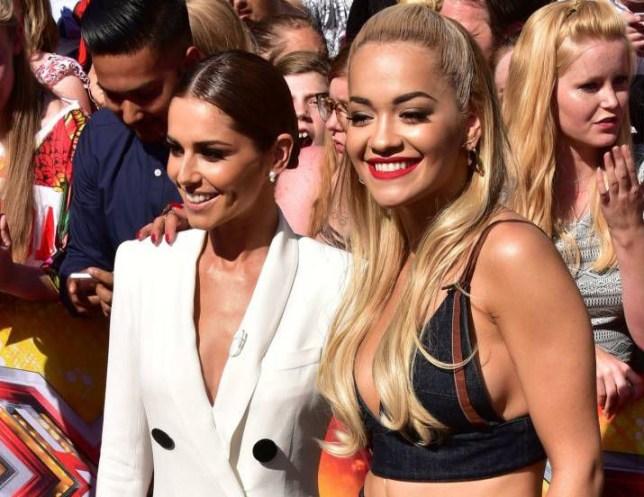 Mandatory Credit: Photo by Nils Jorgensen/REX Shutterstock (4905901de) Cheryl Fernandez-Versini and Rita Ora 'The X Factor' TV Show Auditions, London, Britain - 19 Jul 2015 X Factor auditions, London, Britain - 19 July 2015
