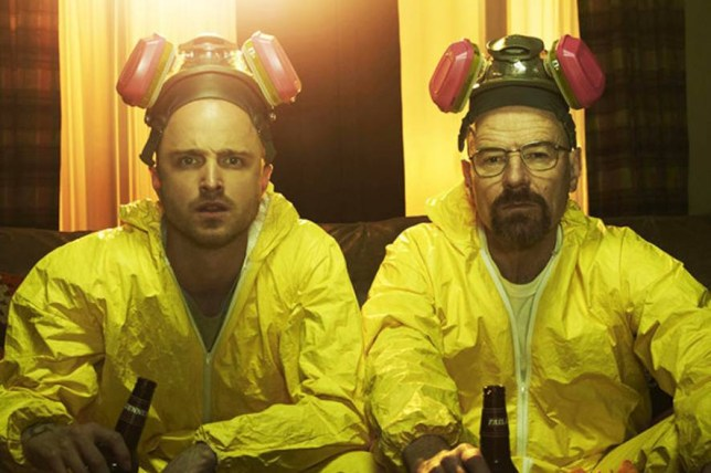 FAMOUS: Meth labs were thrown into the spotlight by the TV series Breaking Bad Secret meth lab discovered at government building - after it exploded