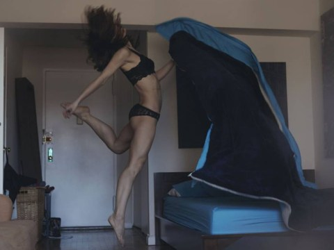 Dancers photographed in their own homes show how committed they are to the cause