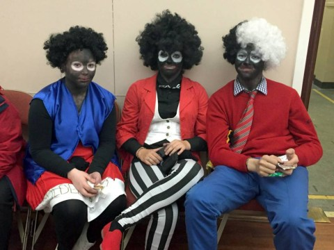 'Thoughtless youngsters' black up as 'real-life golliwogs' for town gala