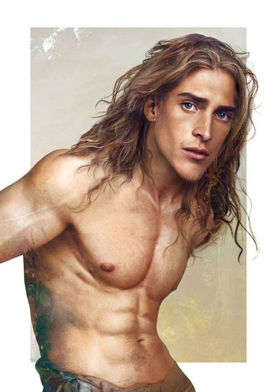 If Disney princes were human they'd look exactly as hot as