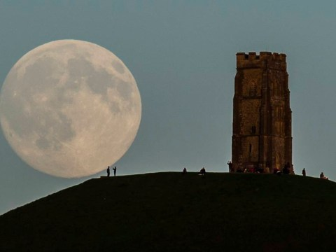 What is a blue moon and how often do they occur?