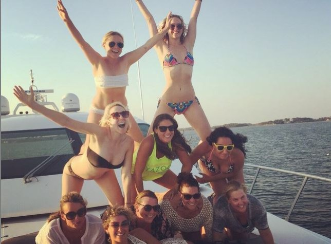 Squad goals! (Picture: Instagram/Amy Schumer)