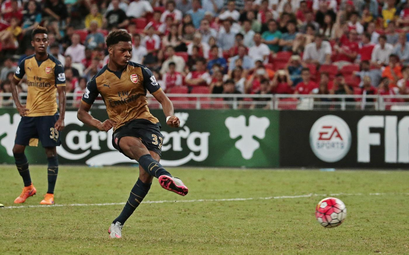 Is Chuba Akpom the reason Arsenal haven't signed a star striker?