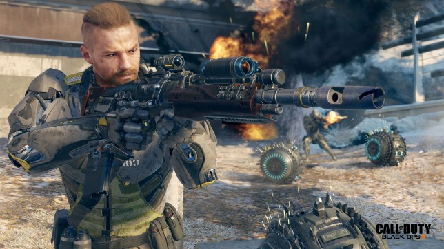 Call Of Duty: Black Ops III - very advanced warfare