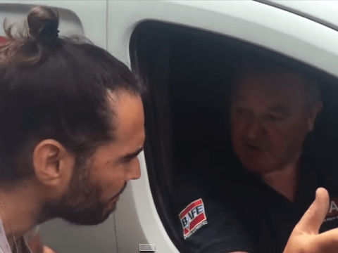 Russell Brand confronted by friend of Tunisia terror attack victim after he said the minute of silence was 'bullsh*t'