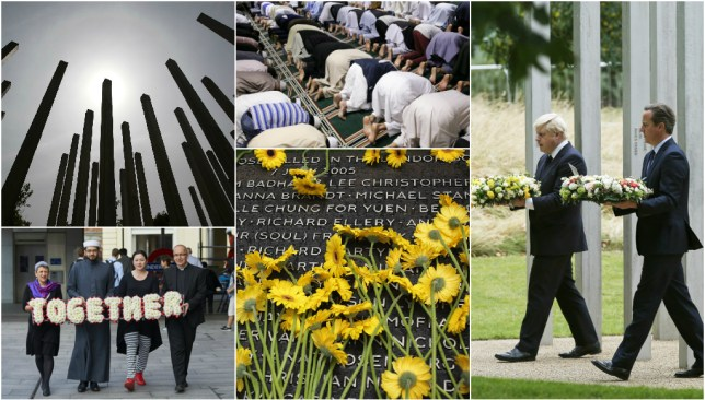 Britain remembers
