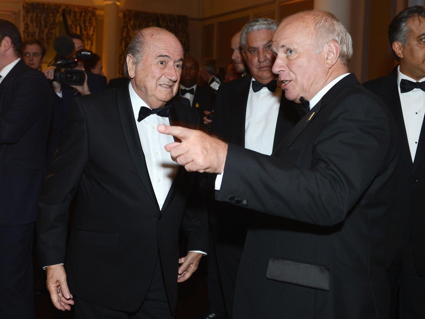 FA chairman Greg Dyke claims Fifa president Sepp Blatter has always disliked him and the English