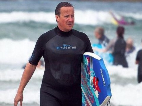 David Cameron's going on TWO holidays this year