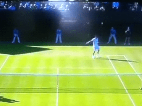Gael Monfils rivals Roger Federer's 'tweener' as best shot of Wimbledon 2015