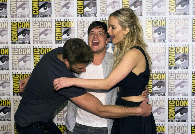 Mockingjay cast at Comic Con