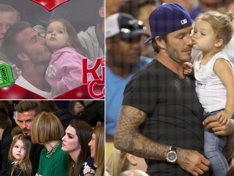 10 times Harper Beckham was TOO CUTE while spending time with dad David Beckham