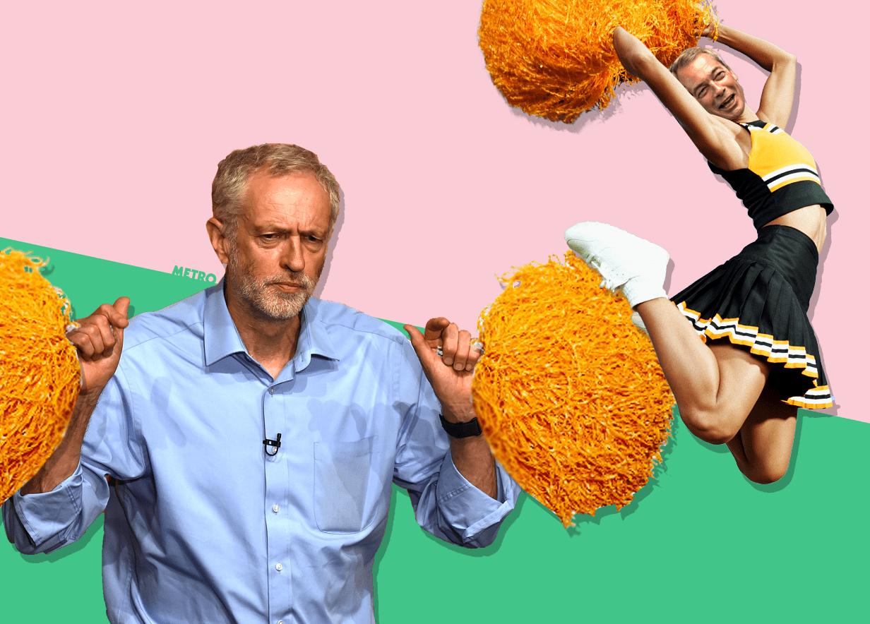 Jeremy Corbyn's latest cheerleader is... Nigel Farage?! COCMP