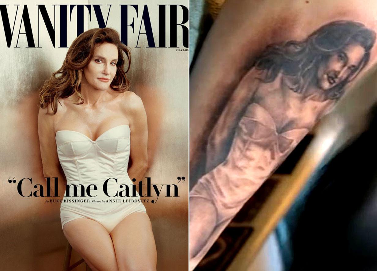 Super fan gets Caitlyn Jenner tattoo