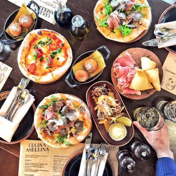 Food at Cucina Asellina