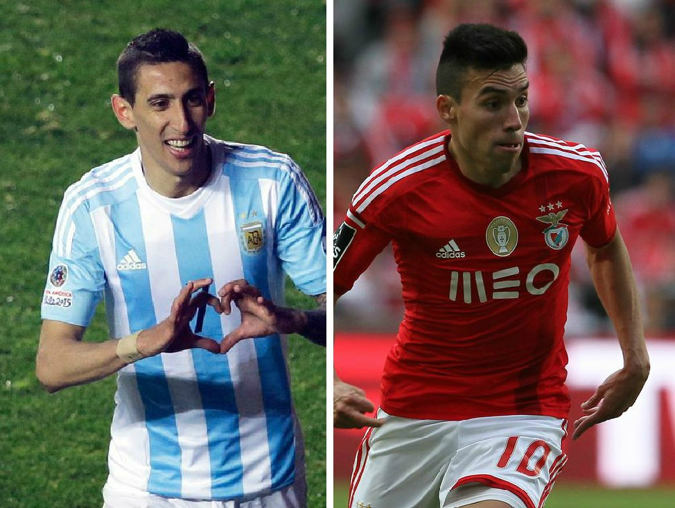 Manchester United 'reach £28.7m transfer agreement to sign Benfica's Nicolas Gaitan if Angel Di Maria leaves'