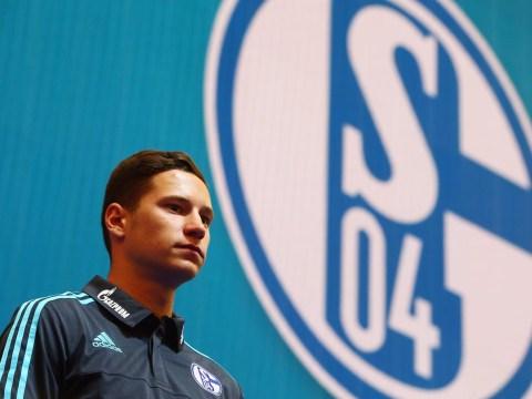 Schalke forward Julian Draxler 'remains high' on Arsenal's transfer list