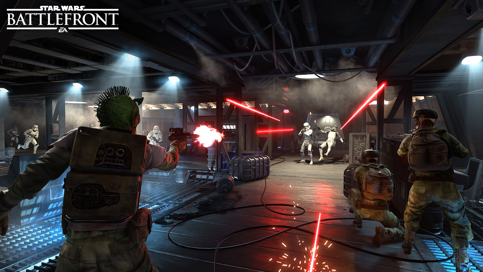 Star Wars: Battlefront - there's no video of Blast yet, but we're sure you can imagine