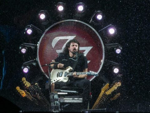 Foo Fighters announce UK stadium shows as Dave Grohl calls broken leg 'beautiful blessing in disguise'