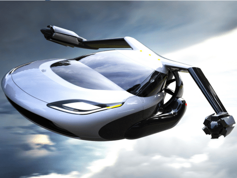 Flying cars aren't too far away, JSYK