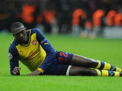 'I want to be like Ibrahimovic' Arsenal's Yaya Sanogo makes bold claim ahead of Ajax loan