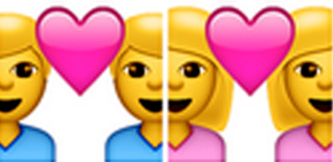 Russia wants to ban gay emojis (Picture: Apple)