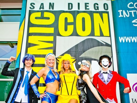 Dear Comic-Con attendees, grabbing the lycra-clad backside of a cosplayer is not ok