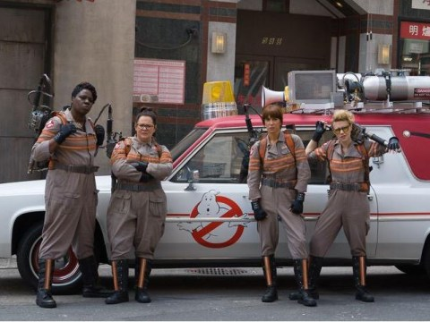Who you gonna call? Ghostbusters cast pays surprise visit to hospital during filming break
