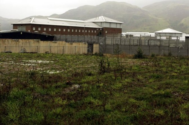 Andrew Burns is currently holed up at Glenochil prison (Picture: PA)