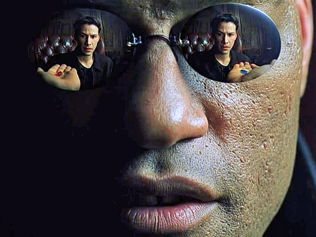 The Matrix Red pill or blue pill? (Picture: Warner Bros.)
