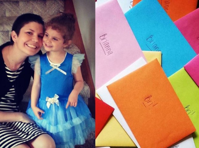 Terminally ill mom Heather McManamy writes letters to her