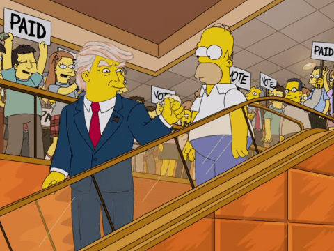 Homer Simpson pokes fun at Donald Trump's hair in hilarious new video: 'I can't believe this was once on his ass'