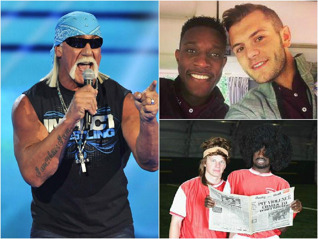 Arsenal fans troll former WWE wrestler Hulk Hogan following racial slur